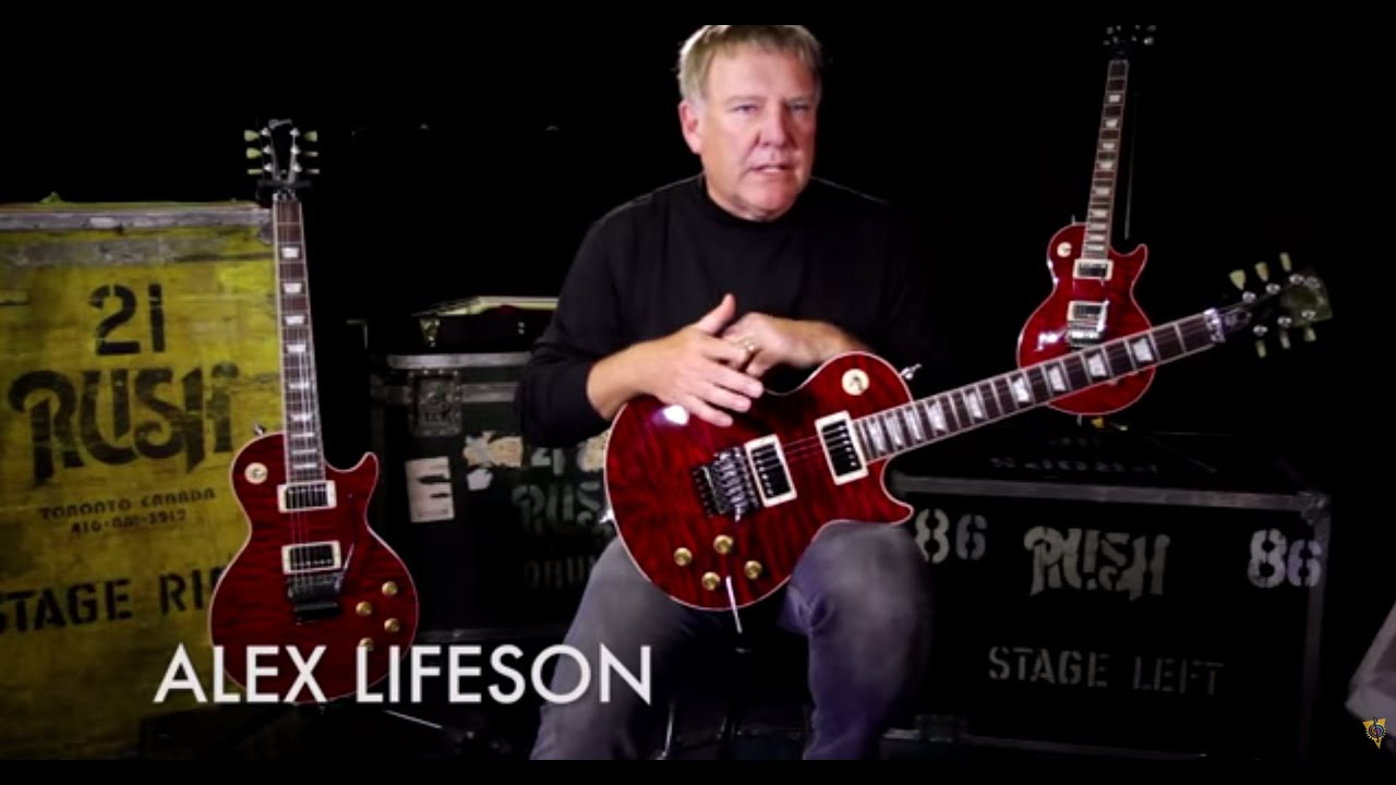 Gibson Custom Alex Lifeson 40th Anniversary R40 Les Paul Axcess