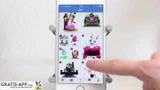 видео Скачать Zoobe - 3D animated messages на Андроид (Русский язык)