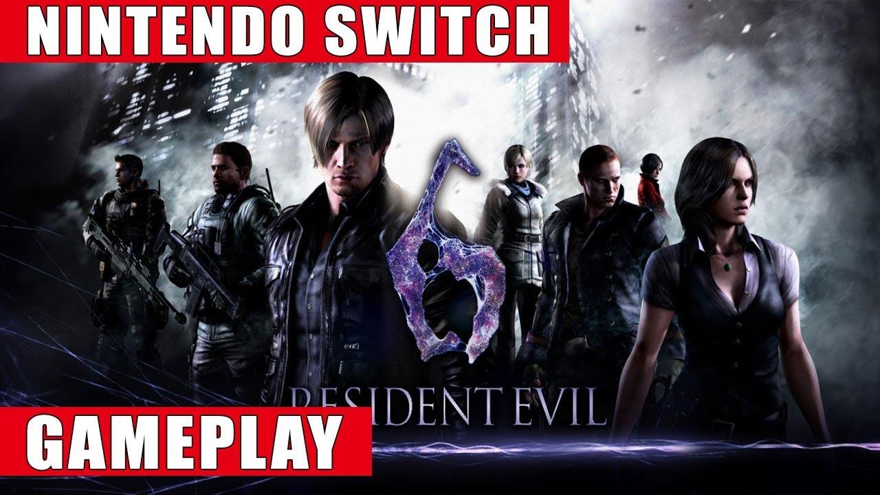 Resident Evil 6 Nintendo Switch Gameplay Youtube