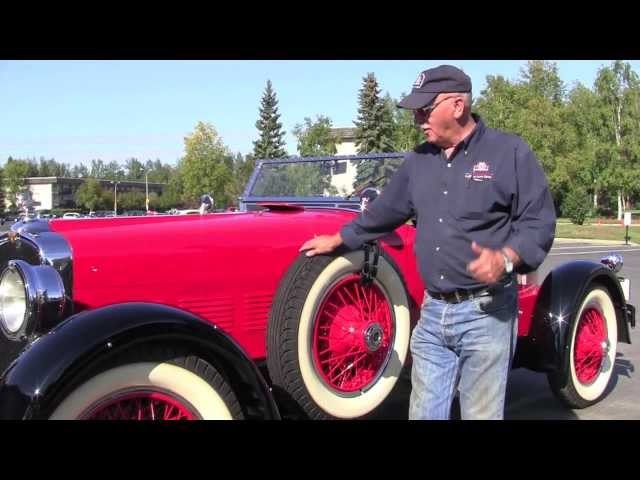 1927 Stutz Black Hawk - Fountainhead Museum - Fairbanks Alaska
