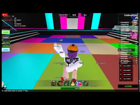 How do you dance in roblox