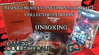 Neon Genesis Evangelion: 3nd Impact Collector's Edition - PSP Import - Unboxing