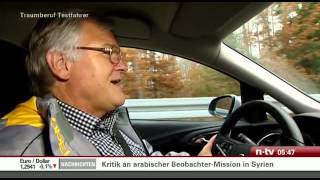 Traumberuf Testfahrer - So testet Opel