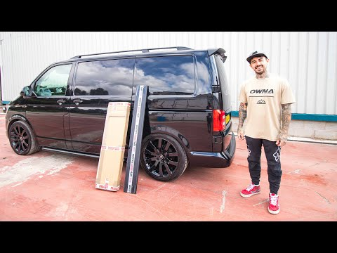 VW T6 CAMPER PROJECT | NEW UPGRADE PARTS!!