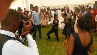 Priscilla sande and Trust Chuma- Zim Wedding Dance
