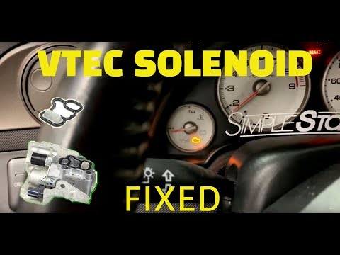 🔥 RSX is cursed with CHECK ENGINE LIGHT !!! P2647 VTEC OIL PRESSURE SWITCH FIX !!!   Vlog
