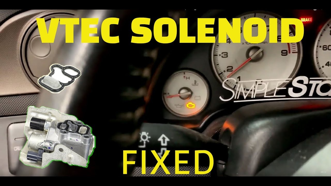 🔥 RSX is cursed with CHECK ENGINE LIGHT !!! P2647 VTEC OIL PRESSURE SWITCH  FIX !!! | Vlog