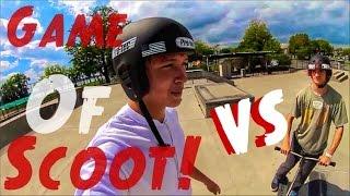 GAME OF SCOOT! | Tony Pham Vs  Mikal Holbrook