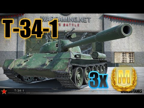 WotBlitz | T-34-1 3x Ace Tanker | New Chinese Power