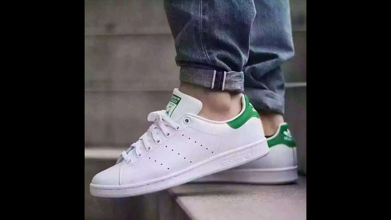 Adidas Stan Smith shoes White Green review