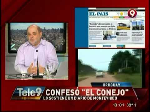 """Confesó """"El Conejo"""", lo sostiene un diario de Montevideo"""