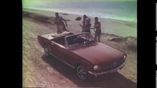 1965 Ford Mustang Commercials (1 of 7) - Mustang Stampede TV Ad