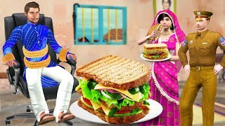 सडवच Sandwich Recipe Funny Video हद कहनय Hindi Kahaniya