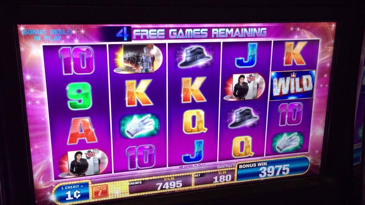 Free Michael Jackson Slots Games