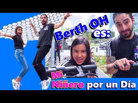 Mi Nuevo NIÑERO POR UN DIA es BERTH OH | TV Ana Emilia