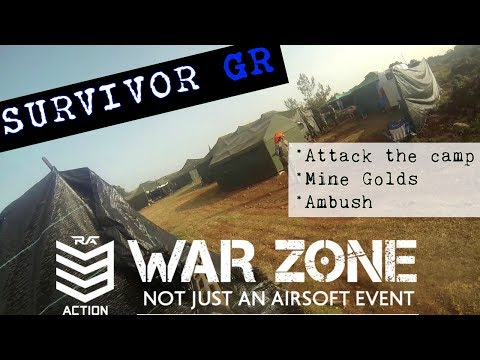 SURVIVOR-BIGGEST MILSIM EVENT in GREECE-WARZONE 5 -part3-Fight till the END!!