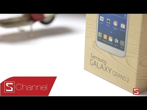 Schannel - Mở hộp Samsung Galaxy Grand 2 - CellphoneS