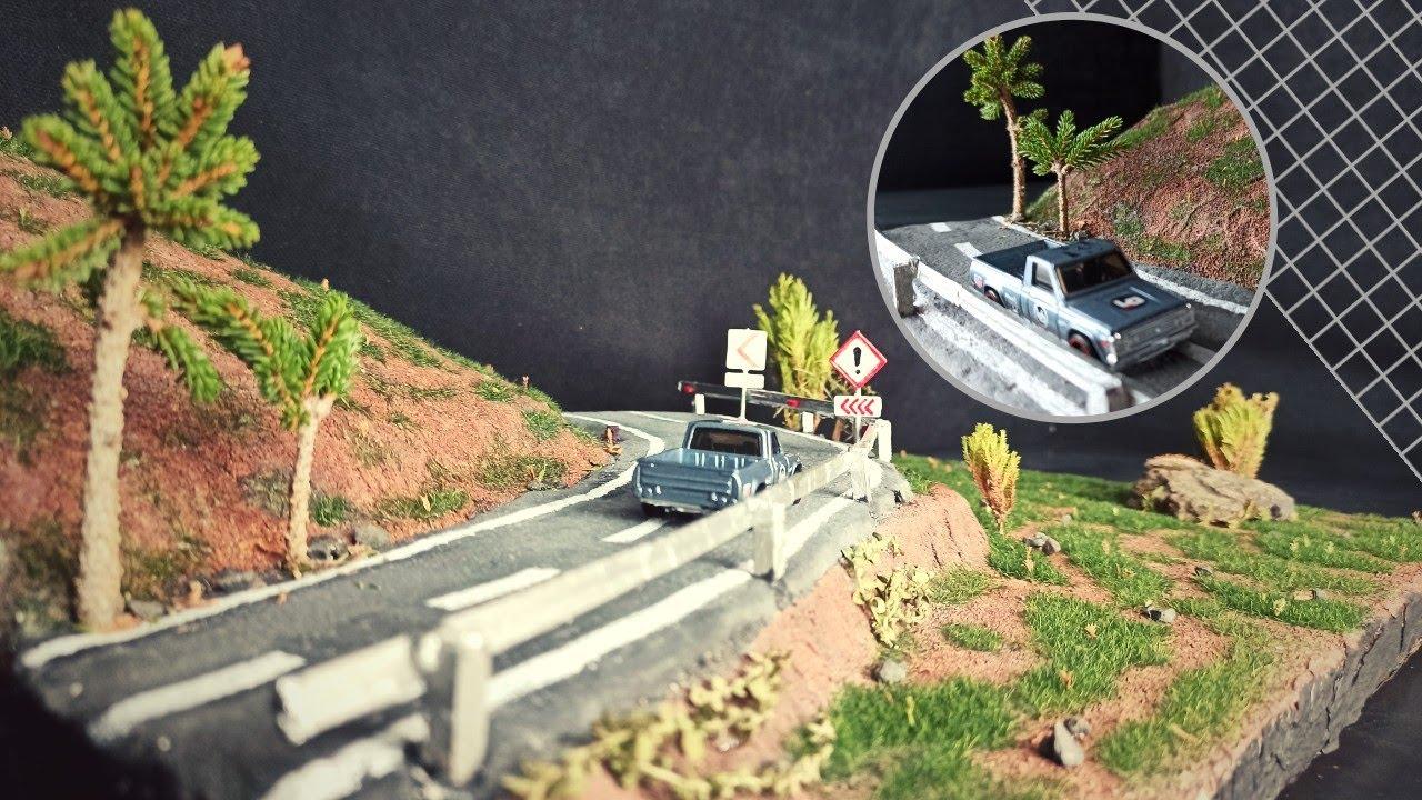 Dağ Yolu Maketi Yaptım - Gerçekçi Diorama Yapımı