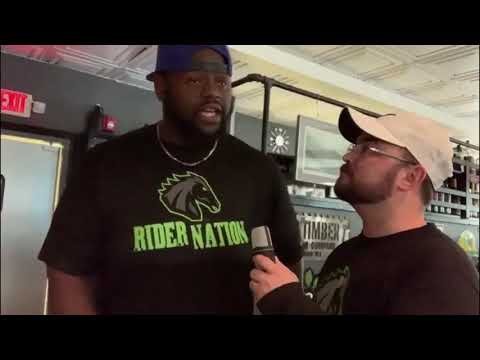 DL Harold Love Interviews about his return in time for 2019 AAL Playoffs
