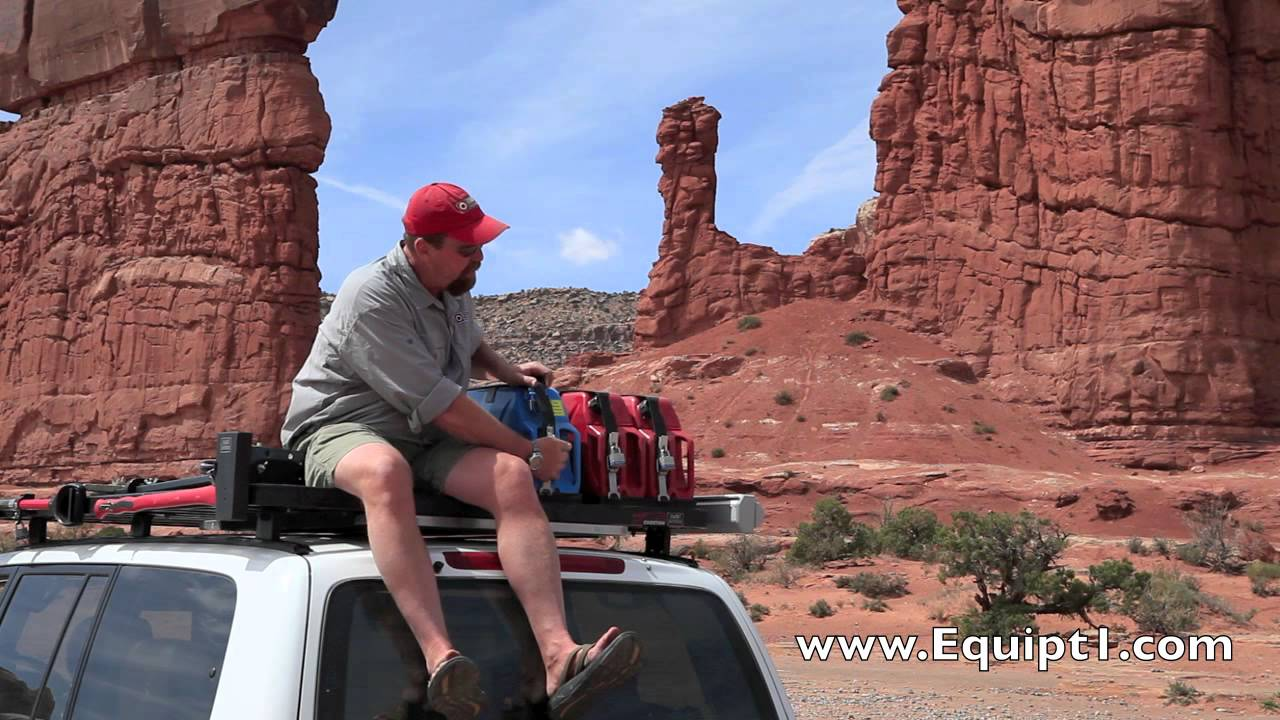 Front Runner Jerry Can Holders Mov Youtube