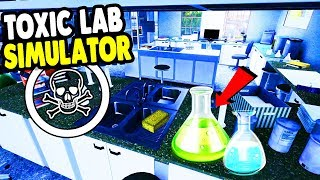 Breaking Into CRAZY TOXIC LAB for EXPERIMENTS | Infra Gameplay