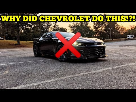 EVERYTHING I HATE ABOUT MY CAMARO ZL1!!! CAN'T BELIEVE CHEVY DID THIS!!