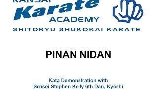 pinan nidan - shito-ryu shukokai karate kata