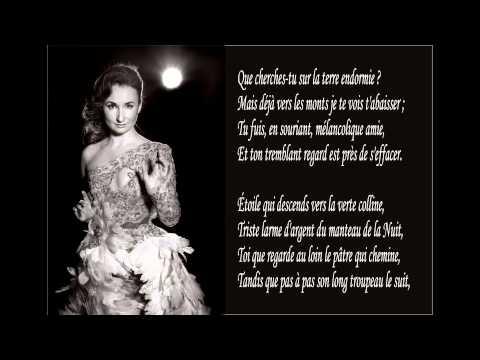 Alfred de Musset - Le saule (by Natalia Orlova)