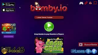 Bomby.io Juego Gratis para Android, IOS y PC en página web sin descargar
