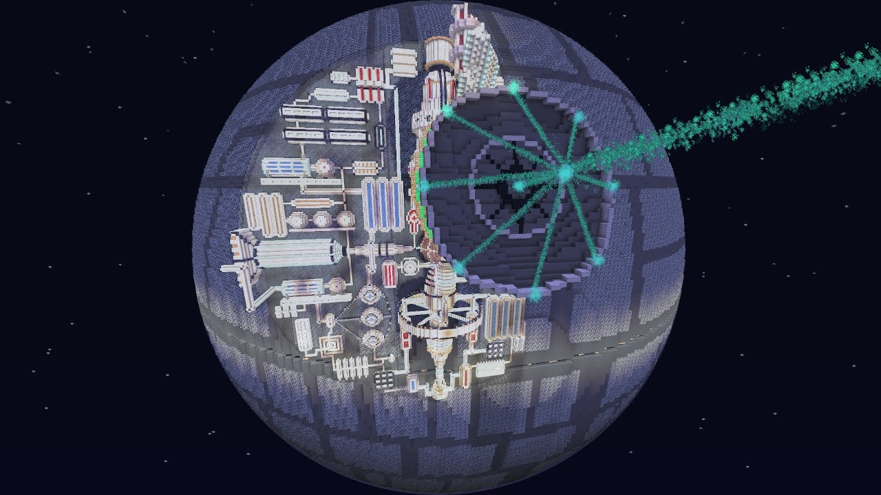 Minecraft: How to make a working Death Star