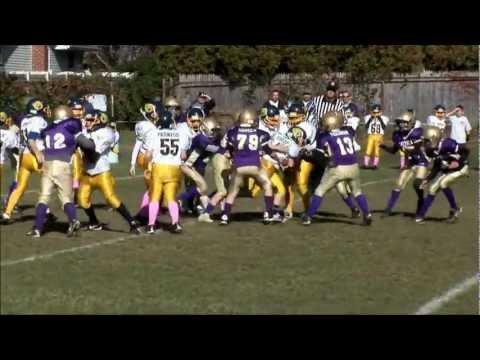 Sayville vs. Northport Football