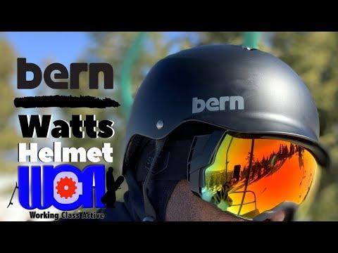 Bern Watts Helmet And Interchangeable Liner