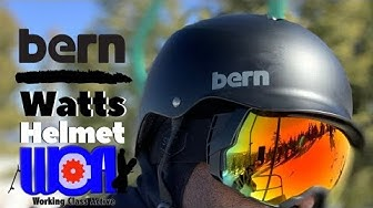 Bern Watts Helmet and Interchangeable Liner