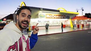 EL PRIMER MCDONALDS DEL MUNDO ¿Saben igual las hamburguesas?
