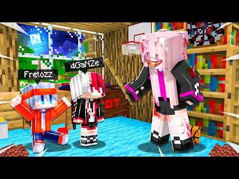 ฟรีโตสกับหวานถูกสาปให้กลายเป็นเด็ก l Minecraft หมู่บ้านสยองขวัญ (มายคราฟ สตอรี่)