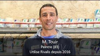 Témoignage client Rivalis - M. Touir, peintre (83)