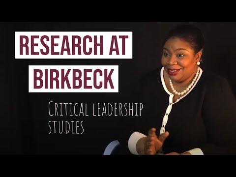Research at Birkbeck - Critical Leadership Studies