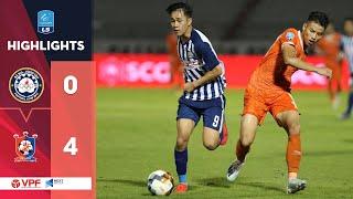 Highlights | Bà Rịa Vũng Tàu - Bình Định | Thua sốc trên sân nhà trong trận  chung kết  | VPF Media