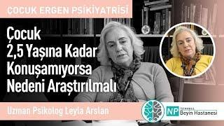 Çocuk 2,5 Yaşına Kadar Konuşamıyorsa Nedeni Araştırılmalı-Uzman Psikolog Leyla Arslan