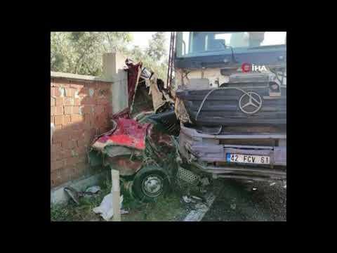 Kemalpaşa'da feci kaza 2 ölü