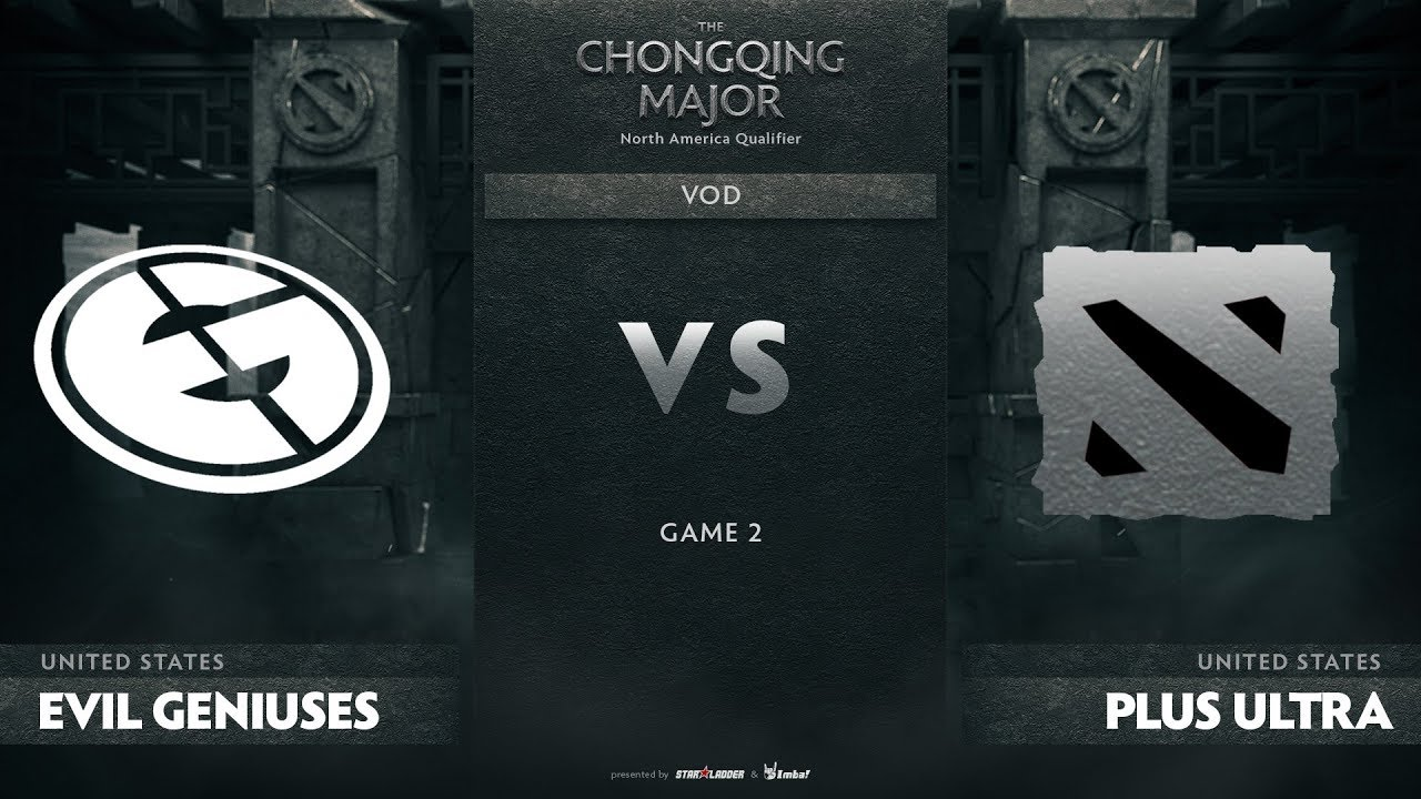 Evil Geniuses vs Plus Ultra, Game 2, NA Qualifiers The Chongqing Major