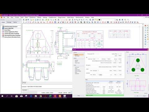 Download Pile Cap Design Detailing In Prota Structure Suite 2018 MP3