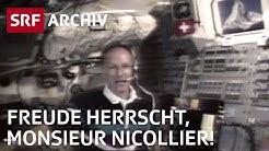 «Freude herrscht, Monsieur Nicollier!» (1992) | SRF Archiv