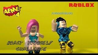ROAST YOURSELF CHALLENGE - AEME - Roblox Ivi