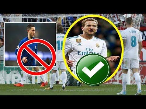 X-X 5 Sababood oo Real Madrid ku qasbeysa iney iibsato Harry Kane Misna iska diido Hazard Deceomentr