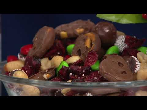 Germack 6 Mini Jars of Assorted Holiday Nut Mixes on QVC