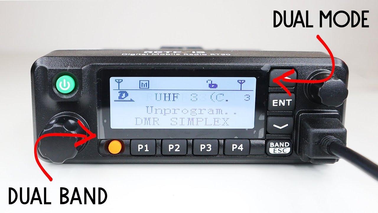 Retevis RT90 Mobile Dual Band DMR Mobile Radio Review | QRZ