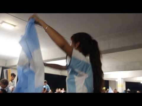 Soy argentino, es un sentimiento, no puedo parar... - Deutschland - Argentinien in Frankfurt