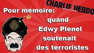 Charlie Hebdo vs Mediapart: Edwy Plenel expliqué en 3 minutes (quand Edwy soutenait Septembre noir)