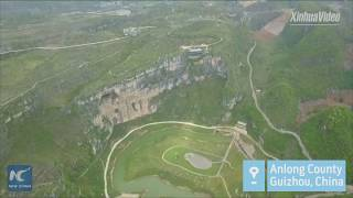 165 meters above ground China s first museum on cliff built in Guizhou